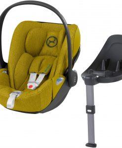 Cybex Cloud Z i-Size Plus Babyskydd Inkl. Z Bas, Mustard Yellow