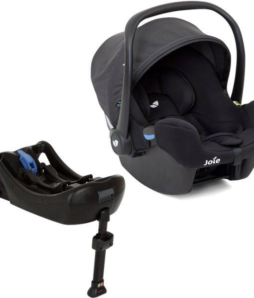 Joie i-Snug Babyskydd Inkl. i-Base 0+ Bas, Coal