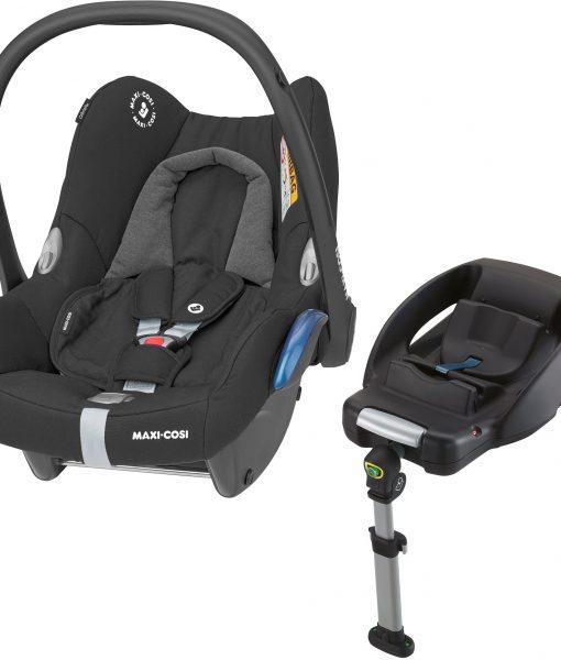 Maxi-Cosi CabrioFix Babyskydd Inkl. EasyFix Bas, Essential Black