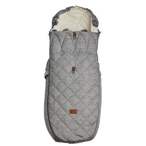 Najell Winter Cover Footmuff Morning Grey one size