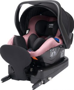 Axkid Modukid Infant Babyskydd Inkl. Bas, Pink