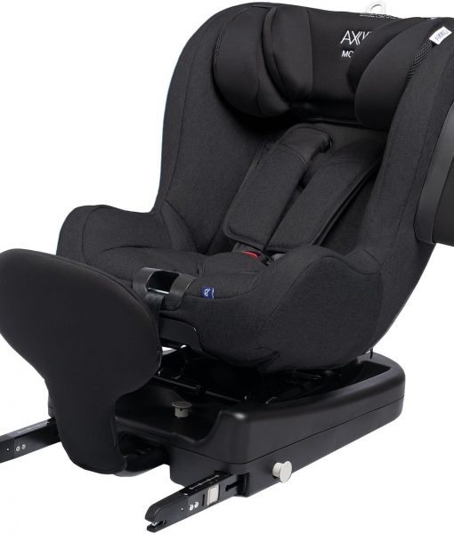 Axkid Modukid Seat Bilbarnstol, Black Inkl. Bas