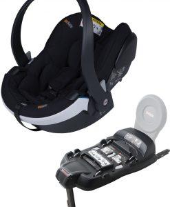 BeSafe iZi Go Modular X1 i-Size Babyskydd inkl. Bas, Fresh Black Cab