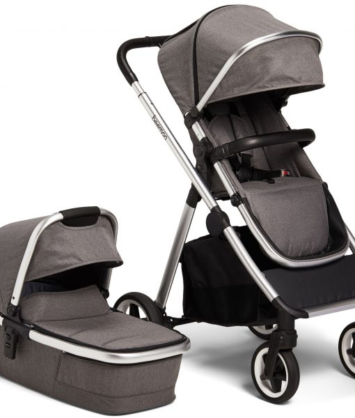 Beemoo Pro Duo Duovagn, Grey