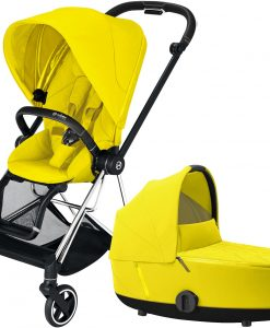 Cybex Mios Duovagn, Mustard Yellow/Chrome Black