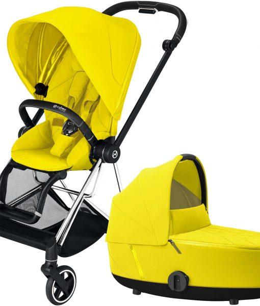 Cybex Mios Duovagn, Mustard Yellow/Chrome Black