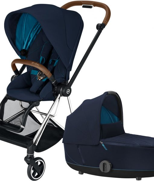 Cybex Mios Duovagn, Nautical Blue/Chrome Brown