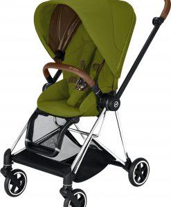 Cybex Mios Sittvagn, Khaki Green/Chrome Brown