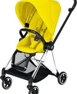 Cybex Mios Sittvagn, Mustard Yellow/Chrome Black