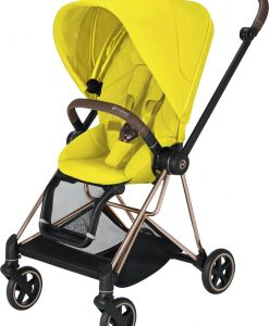 Cybex Mios Sittvagn, Mustard Yellow/Rose Gold