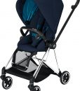 Cybex Mios Sittvagn, Nautical Blue/Chrome Black